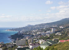 View of Yalta 免版税库存照片