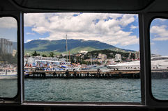 View upon Yalta, Crimea Royalty Free Stock Photography