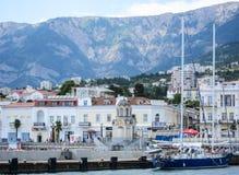 View upon Yalta, Crimea Stock Photography