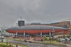 View of Yamato Maritime Museum in Kure. Japan Royalty Free Stock Image