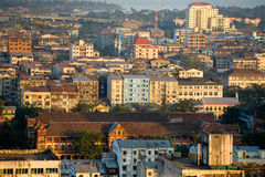 View of Yangon, Myanmar. Stock Photo