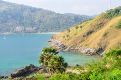 View of Yanui Beach bay, Phuket, Thai Stock Images