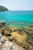 View of Yanui Beach bay, Phuket, Thai Royalty Free Stock Photography