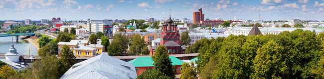 View of Yaroslavl Stock Images