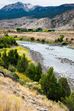 View of the Yellowstone River Royalty Free Stock Image