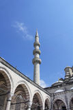 View of Yeni mosque. In Eminonu/Istanbul Royalty Free Stock Photo