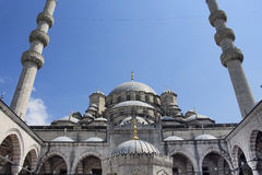 View of Yeni mosque Royalty Free Stock Image