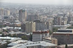 View of Yerevan, the capital of Armenia Stock Photos