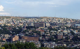 View of Yerevan city royalty free stock photography
