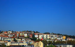 View of the Yildiz (Besiktas), Istanbul. Royalty Free Stock Images