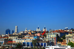 View of the Yildiz (Besiktas), Istanbul. Royalty Free Stock Photography