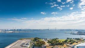 View of Yokohama bay Royalty Free Stock Photos