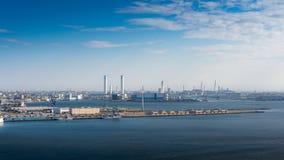 View of Yokohama bay Stock Images