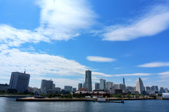 View of Yokohama, Japan. Stock Photography