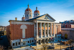 View of the York County Courthouse, in York, Pennsylvania. Stock Photo