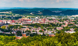 View of York, Pennsylvania, from Top of the World. Royalty Free Stock Photo