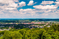 View of York, Pennsylvania, from Top of the World. Stock Photos