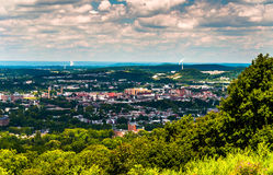View of York, Pennsylvania, from Top of the World. Royalty Free Stock Images