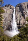 View of the Yosemite Falls Stock Image