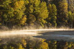 View of Yosemite national park in autumn Royalty Free Stock Image