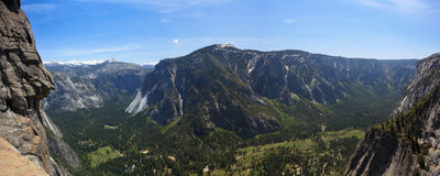 View of Yosemite valley Royalty Free Stock Photo