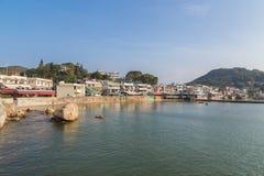 View of Yung Shue Wan Lamma Island Royalty Free Stock Image