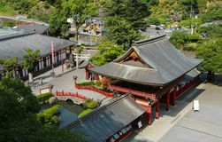 Yutoku Inari shrine royalty free stock photo