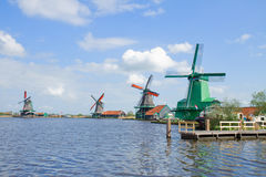 View of  Zaanse Schans Stock Photography