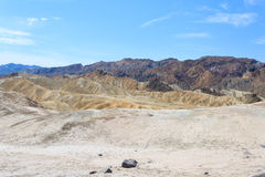 View from Zabriskie Point, California, USA. Stock Image