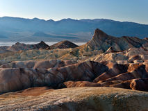 View from Zabriskie Point in Death Valley Stock Image