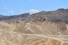View from Zabriskie Point Stock Images