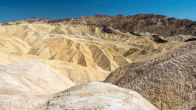 View from Zabriskie Point Royalty Free Stock Photos