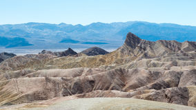 View from Zabriskie Point Stock Photos