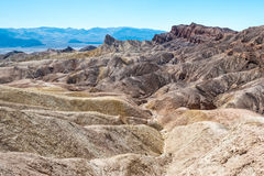 View from Zabriskie Point Stock Photography