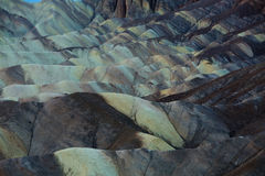 View from Zabriskie Point in Death Valley National Park Royalty Free Stock Image