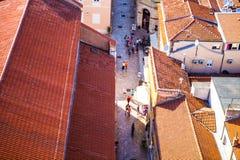 View of Zadar, Croatia Stock Photography