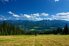 View of Zakopane Stock Photo