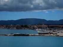 View of Zakynthos City Royalty Free Stock Photo