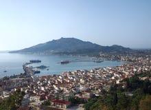 View of Zakynthos City Royalty Free Stock Photos