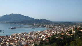 View of Zakynthos City Royalty Free Stock Images