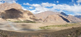 View from Zanskar valley Stock Photo