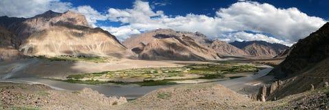 View from Zanskar valley Stock Photo
