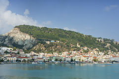 View of Zante town in Greece Stock Photos