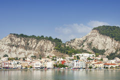 View of Zante on Zakynthos island Royalty Free Stock Photo