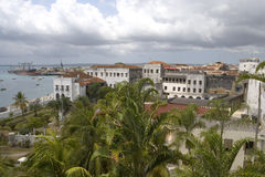 View at Zanzibar. During the day Stock Photo