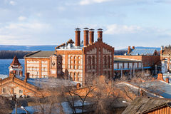 View on Zhiguli Brewery in Samara, Russia Stock Photography