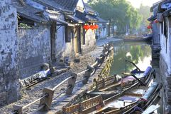 View at Zhouzuang Stock Images
