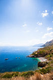 View of Zingaro Nature Reserve, Sicily Stock Photography