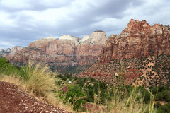 View of Zion National Park Stock Photography