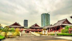 View of Zojo-ji Temple in Tokyo Royalty Free Stock Image